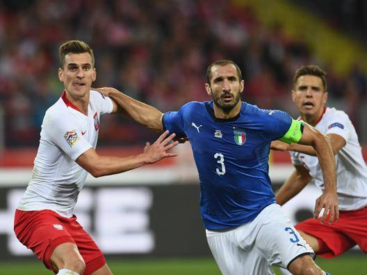 Polonia-Italia 0-1 Il tabellino completo