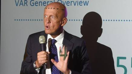 Pierluigi Collina. Afp