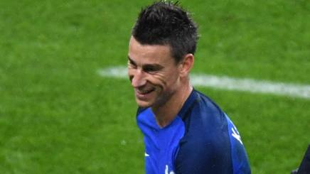 Laurent Koscielny, difensore dell'Arsenal. Afp