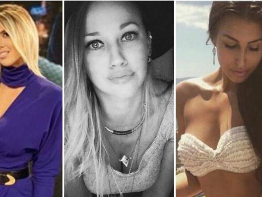 Wanda, Lara, Barbora e... A San Siro sfida tra Wags