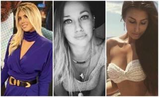 Wanda, Lara, Barbora e... A San Siro la sfida delle Wags
