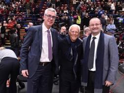 Zoran Radovic Giorgio Armani e Patrick Baumann. Ciamillo e Castoria