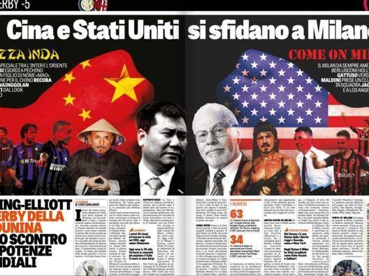 Inter-Milan è Cina-Usa  Duello fra superpotenze