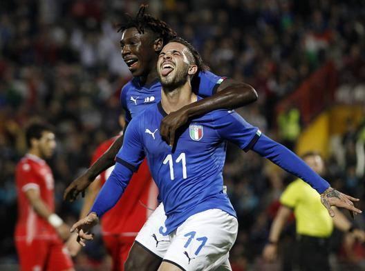 Parigini-Kean e l'Italia va 2-0 facile contro la Tunisia