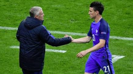 Didier Deschamps e Laurent Koscielny. Getty