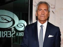 Gabriele Gravina, 65 anni, presidente uscente della Lega Pro. Ansa