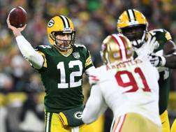 Aaron Rodgers, quarterback di Green Bay AP