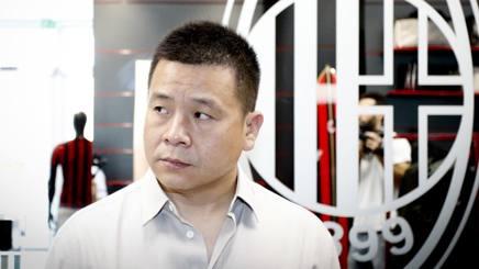 Yonghong Li, 49 anni, ex proprietario del Milan. Lapresse