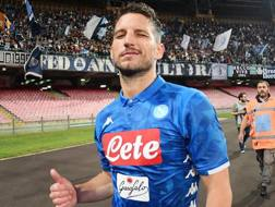 Dries Mertens, belga del Napoli. Getty