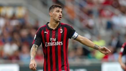 Alessio Romagnoli, capitano del Milan. ANSA