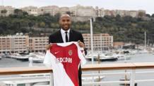 Thierry Henry, 41 anni, nuovo allenatore del Monaco. Epa