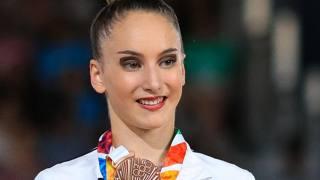 Talisa Torretti, 15 anni, bronzo nell'all-around della ginnastica ritmica. Getty