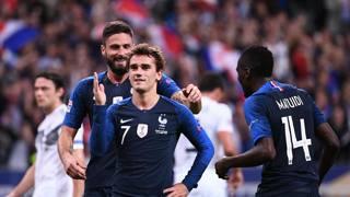 Antoine Griezmann, 27 anni, attaccante delle Francia e dell'Atletico Madrid. Ap