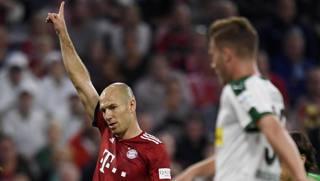 Arjen Robben, 34 anni EPA