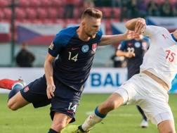 Milan Skriniar, 23 anni, difensore dell'Inter e della Slovacchia. Getty