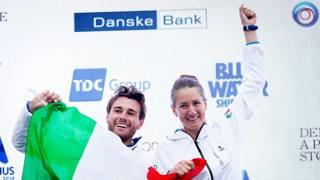 Ruggero Tita e Caterina Banti: sono in lizza per il premio velista dell'anno