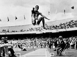 Il favoloso salto di Bob Beamon a  Messico '68