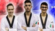 Laura Giacomini, Roberto Botta e Vito Dell'Aquila saranno in gara da domani al Grand Prix di Manchester