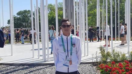 Rosario Ruggiero, primo italiano della storia del karate alle Olimpiadi: gareggerà oggi nei -68 kg