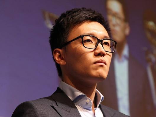 Steven Zhang, 27 anni. Getty