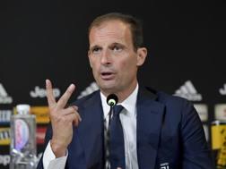 Massilimiano Allegri, allenatore della Juventus. Getty
