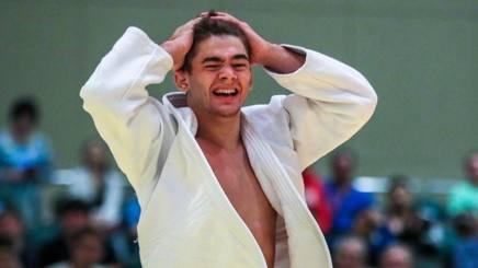 La gioia irrefrenabile di Manuel Lombardo dopo il trionfo a Nassau