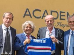 Walter Sabatini, 63 anni, direttore dell'area tecnica della Sampdoria.
