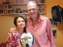 Giuseppe e Sonia Chirichella, i genitori della capitana azzurra
