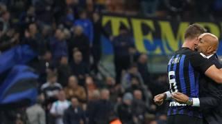 Luciano Spalletti, seconda stagione sulla panchina dell'Inter. Getty Images