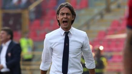 Filippo Inzaghi. Ansa