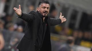 Il tecnico del Milan Gennaro Gattuso, 40 anni. LaPresse