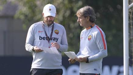 Eusebio Di Francesco, 49 anni, allenatore della Roma. Lapresse