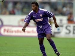 Luís Oliveira ai tempi della Fiorentina
