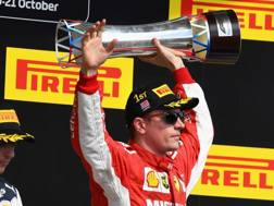 Kimi Raikkonen non vinceva da Australia 2013. Afp