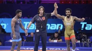 Jordan Burroughs batte Frank Chamizo e vince il bronzo nei -74 kg