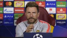 Eusebio Di Francesco, allenatore della Roma. Lapresse