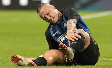 Radja Nainggolan, centrocampista dell'Inter. Getty