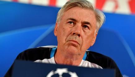 Carlo Ancelotti, allenatore del Napoli. AFP