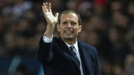 Max Allegri, allenatore della Juve. Epa