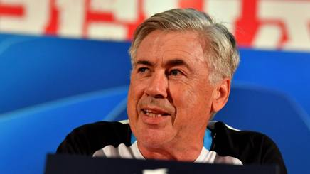 Carlo Ancelotti, 59 anni. AFP