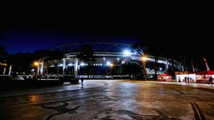 L o Stadio Olimpico, Getty