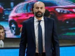 Maurizio Buscaglia, 49 anni, coach di Trento. Ciam/Cast