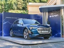 Audi e-Tron e Enel insieme per la ricarica
