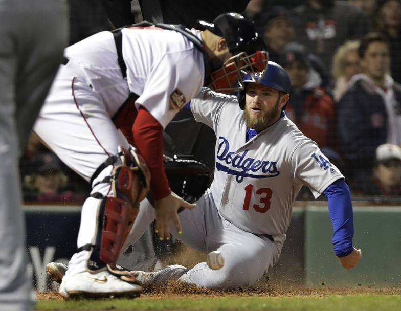 Max Muncy dei Los Angeles Dodgers. Ap