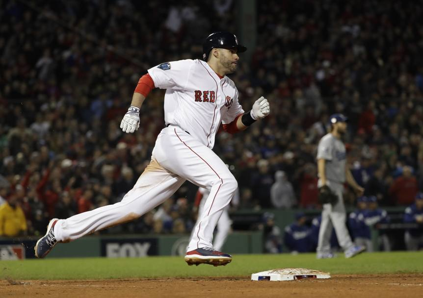 J.D. Martinez dei Boston Red Sox. Ap