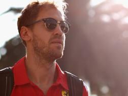 Sebastian Vettel, 31 anni. Afp