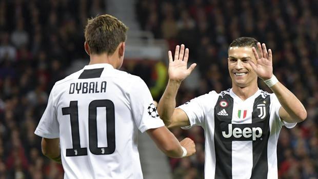Paulo Dybala e Cristiano Ronaldo. Getty