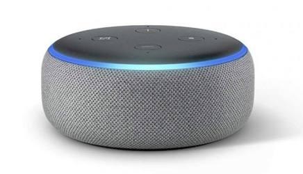L'assistente Alexa integrato in Amazon Echo. Da Twitter