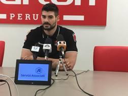 Filippo Lanza, prima stagione a Perugia