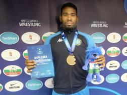 Abraham Conyedo, bronzo nei -97 kg stile libero